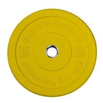 Body Solid 25 lb. Chicago Extreme Colored Bumper Plate (New) Image