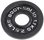 Body Solid OPB2-5 Olympic Weight Plate- 2.5 lbs Image