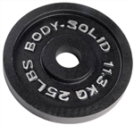 Body Solid Olympic Weight Plate- 25 lbs Image