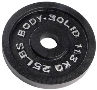 Body Solid OPB25 Olympic Weight Plate- 25 lbs Image