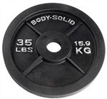 Body Solid OPB35 Olympic Weight Plate- 35 lbs Image