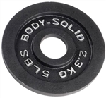 Body Solid OPB5 Olympic Weight Plate- 5 lbs Image