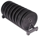 Body Solid Premium Bumper Plate Set- 260 lbs Image
