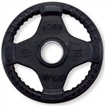 Body Solid Rubber Grip Olympic Plate 10 Lbs Black Image