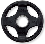 Body Solid ORT5 Rubber Grip Olympic Plate 5 Lbs Black Image