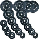 Body Solid Olympic Weight Set 355 Lbs. Image