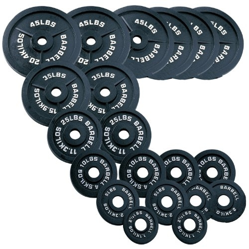 Body Solid Olympic Weight Set 455 Lbs Image