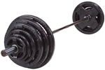 Body Solid Rubber Grip Olympic Set 400 Lbs. Image