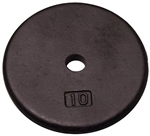 Body Solid RPB10 Standard Weight Plates - 10 lbs. (New) Image