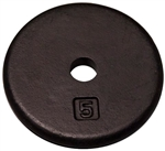 Body Solid Standard Weight Plates - 5 lbs. (New) Image
