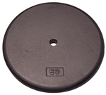 Body Solid RPB50 Standard Weight Plates - 50 lbs. (New) Image