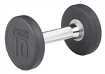 Body Solid SDP10 Rubber Round Dumbbell 10 Lb. Image