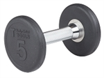 Body Solid Rubber Round Dumbbell 5 Lb. Image