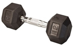 Body Solid SDR12 Rubber Coated Hex Dumbbell 12 Lbs Image