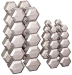 Body Solid Hex Dumbbell Set — 5 to 50 Lbs Image