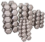 Body Solid SDS650 Hex Dumbbell Set 55 to 75 Lbs Image