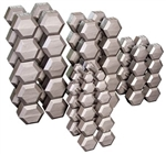 Body Solid SDS900 Hex Dumbbell Set 80 to 100 Lbs. Image