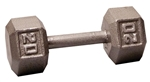 Body Solid Hex Dumbbell 20 lbs. Image