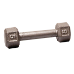 Body Solid SDX5 Hex Dumbbell 5 lbs. Image
