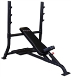 Body-Solid SOIB250 Pro Clubline Olympic Incline Bench Image