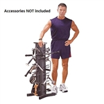 Body Solid VDRA30 Accessory Stand Rack Only Image