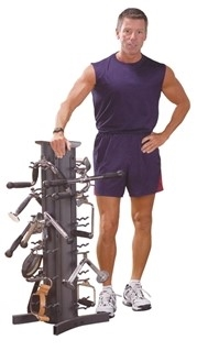 Body Solid VDRA30-PACK Accessory Stand Rack Package Image