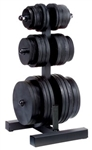 Body Solid WT46 Olympic Plate Tree & Bar Holder Image