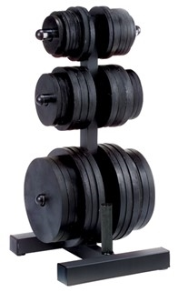 Body Solid Olympic Plate Tree & Bar Holder Image