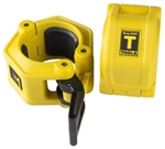 Body Solid BSTLJO2 OLY 2 Lock Jaw Collars - Yellow Image