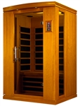 GoldenDesigns DYN-6210-02 Venice II Edition Dynamic Sauna | Image