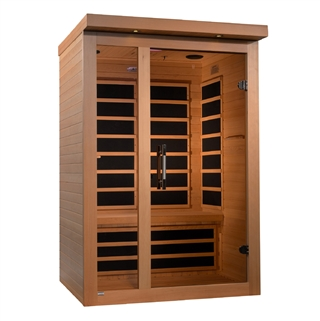"GoldenDesigns DYN-6215-02 Dynamic ""Amodora"" Low EMF Far Infrared Sauna 