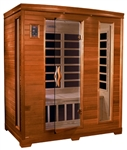 GoldenDesigns DYN-6444-04 Modena Edition Dynamic Sauna | Image