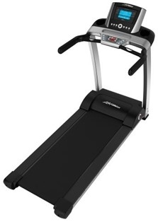 Life Fitness F3 Foldable Treadmill w/Advanced Console Image
