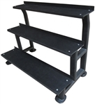 French Fitness 3 Tier Kettlebell Rack Image