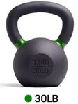 French Fitness Cast Iron Kettlebell 30 lbs Image