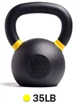 French Fitness Cast Iron Kettlebell 35 lbs Image