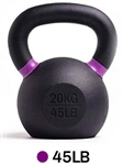 French Fitness Cast Iron Kettlebell 45 lbs Image