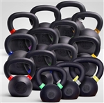 French Fitness Cast Iron Kettlebell Set 5-70 lbs Image