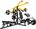 French Fitness FL100 Freeweight Leverage Commercial Gym System Image