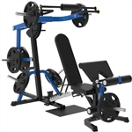 French Fitness FL20 Freeweight Leverage Multi-Functional Bench Image