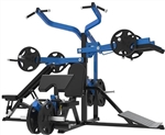French Fitness FL70 Freeweight Leverage Gym System Image