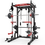 French Fitness FSR10 Multi Cable Functional Smith Rack Machine Image