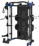 French Fitness FSR60 Functional Smith & Squat Rack Home Gym Image