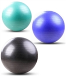 French Fitness Anti Burst Stability Exercise Ball Set of 55, 65, 75 cm Image