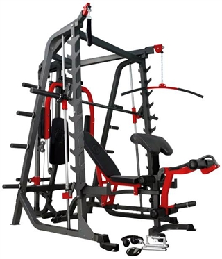 French Fitness MSC10 Multi Function Squat Cage Smith Image