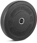 French Fitness Bumper Plates 15 lbs Image