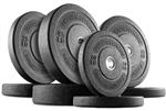 French Fitness Olympic Bumper Plate Set 190 lbs Image
