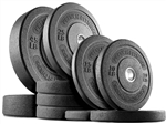 French Fitness Olympic Bumper Plate Set 240 lbs Image