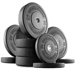 French Fitness Olympic Bumper Plate Set 280 lbs Image