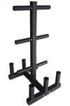 French Fitness OWTBH5 Olympic Weight Tree & Bar Holder Image